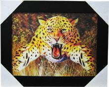 12 Units of Leopard Canvas Picture - Home Decor