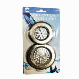 120 Units of 2 Piece Sink Strainers - Strainers & Funnels