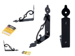 "96 Units of 4"" X 6"" Black Decorative Shelf Support - Home Accessories"