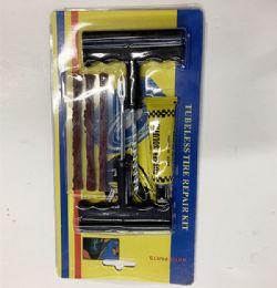 72 Bulk Tire Repairing Kit Set