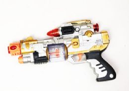 24 Units of Toy Machine Gun with Lights And Sounds - Toy Weapons