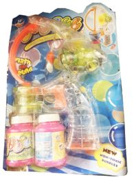 24 Units of Bubbles Gun Toy With Lights With Sounds - Bubbles
