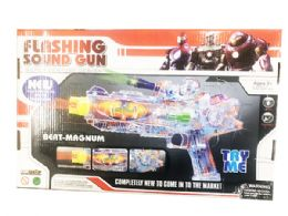 12 Units of Toy Machine Gun With Lights And Sounds - Toy Weapons