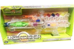 12 Units of Toy Machine Laser Gun With Light And Sounds - Toy Weapons