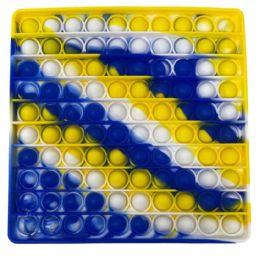 12 Bulk Tie Dye Square Minion Color