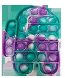 24 Units of Tie Dye Amung Push pop - Fidget Spinners