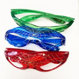 96 of Kids Spider Glass Color Assorted