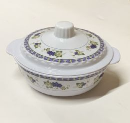 120 Units of 7 Inch Bowl With Lid Set - Plastic Bowls and Plates