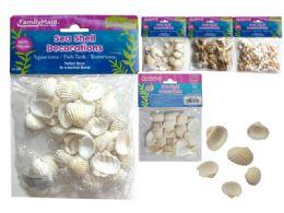 144 Units of Assorted Sea Shells - Home Decor