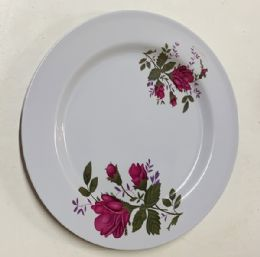 120 Units of 9 Inch Flat Plate - Plastic Bowls and Plates