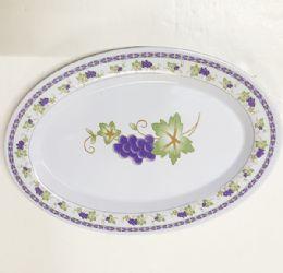 120 Bulk Oval Plate Floral Design