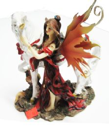 12 Bulk Fairy Riding Red And Black