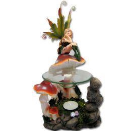 12 Bulk Mushroom Fairy Tea Light Burner