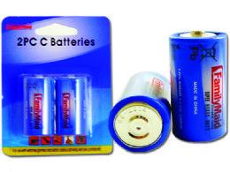 96 Units of 2pc C Batteries - Batteries