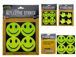 96 Units of 8pc Reflective Stickers - Arts & Crafts