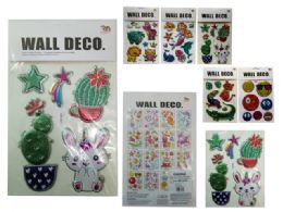 288 Units of 3d Pop-Up Stickers - Arts & Crafts