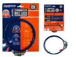 72 Bulk Combination Bike Lock