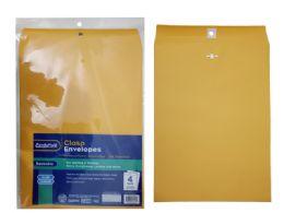 72 Wholesale 4pc Clasp Envelopes