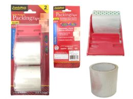 96 Wholesale 2pc Clear Packing Tape