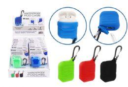 24 of Waterproof Airpod Case With Carabiner