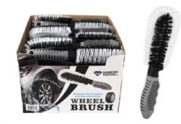 24 Units of Wheel Brush - Auto Cleaning Supplies