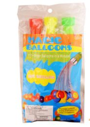 24 Wholesale Fast Fill Balloons 111 Count