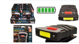 12 Bulk Rechargeable Cob LED Cap Light