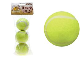 36 Units of Dog Tennis Ball 3 Pack - Pet Toys