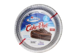 54 Units of Hostess Round Cake Pan And Lid 2 Pack - Aluminum Pans