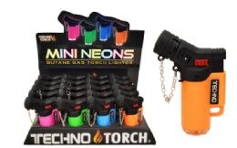 40 Units of Jet Torch Lighter Neon - Lighters