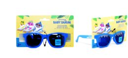 36 Units of Kids Sunglasses Blue Baby Shark - Tape Measures and Measuring Tools