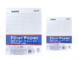 """24 Wholesale Filler Paper 10.5""""x8"""""""