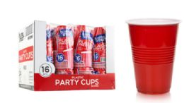 48 Wholesale Plastic Party Cups 16 Ounce 16 Count