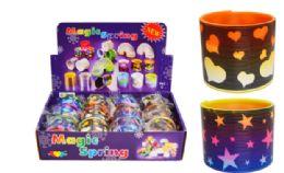 72 Units of Slinky Stars And Hearts - Novelty Toys