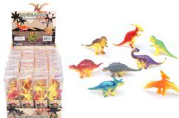 48 Units of Toy Dinosaur 8 Piece - Animals & Reptiles