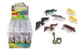 48 Units of Toy Wild Animals 8 Pieces - Animals & Reptiles