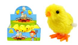 48 Units of Wind Up Hopping Chick - Animals & Reptiles