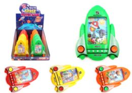 72 Units of Water Game Space Ship - Novelty Toys