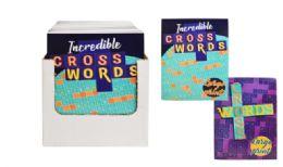 72 Units of Big Print Cross Word Puzzle Book - Crosswords, Dictionaries, Puzzle books