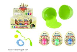 60 Units of Bounce Putty Egg - Slime & Squishees