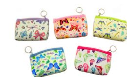 72 Wholesale Butterfly Coin Purse