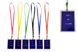 72 Units of Lanyard With ID Holder Vertical - Id card