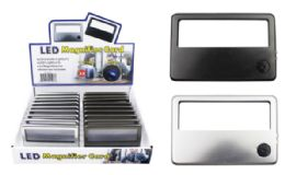 24 Wholesale LED Pocket Magnifier