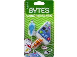 72 Wholesale tzumi cord bytes 2 pack clownfish and whale cord protectors