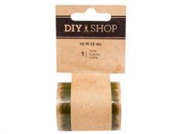 180 Units of DIY Shop Gold Star Transparent Tape - Tape & Tape Dispensers