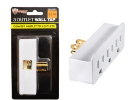 72 of 3 Outlet Wall Tap UL Listed