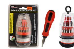 24 Units of 30 In 1 Mini Screwdriver - Screwdrivers and Sets
