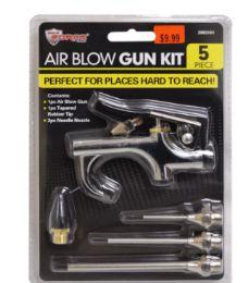 24 Bulk Air Blow Gun Kit 5 Piece
