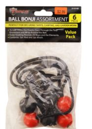 48 of Ball Bungee Cords 6 Pack