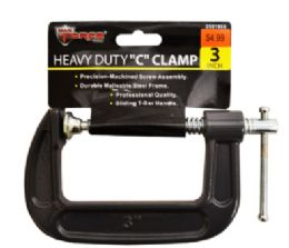 24 Units of C Clamp 3 Inch - Clamps